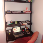 E finalmente. . . meu room office!