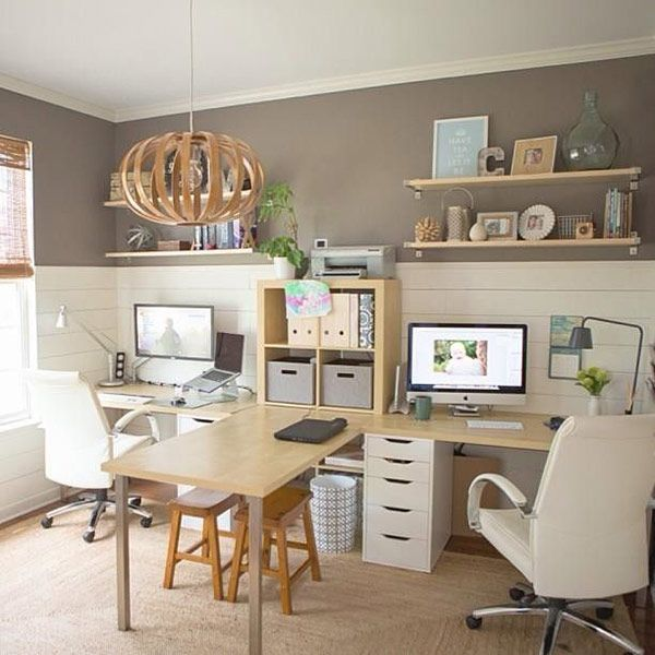 Home Office Decor For Private Impression: Home Office Para Casal